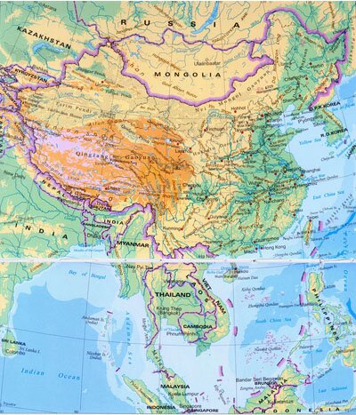 China Topographic