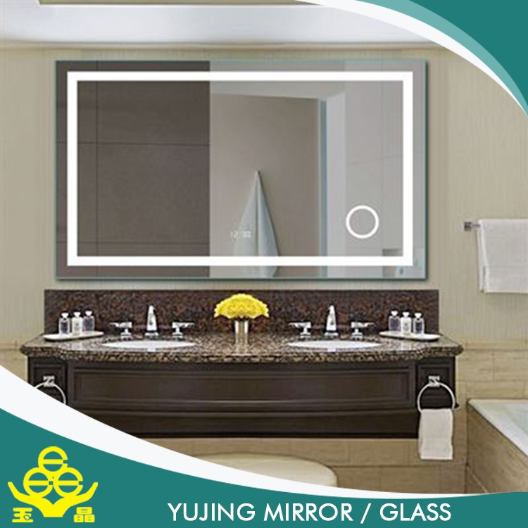smart mirror for bathroom price  touch screen silver