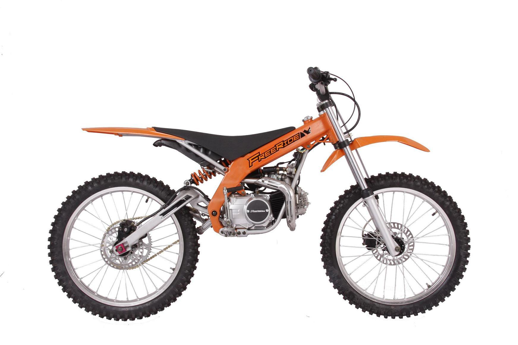 Dirt Bike Pilot Fr 110cc Orange