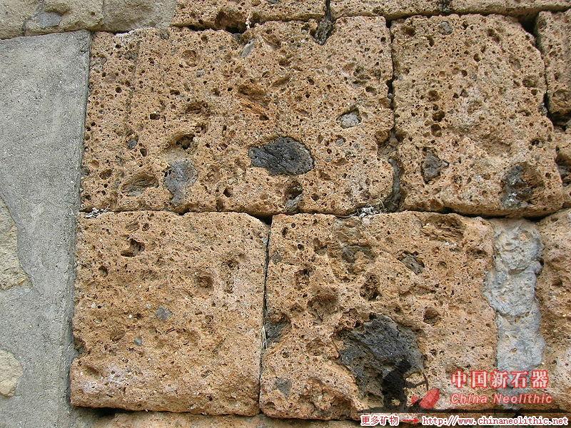凝灰巖-Tuff-地質-巖石-礦物-礦石-標本-高清圖片-中國新石器-百科,地質,知識,資料,教學