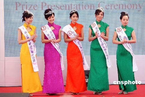 圖:香港工展小姐新鮮出爐