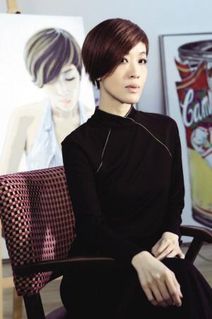 陳珊妮稱選秀形成單一審美:只要你唱的夠大聲-中新網