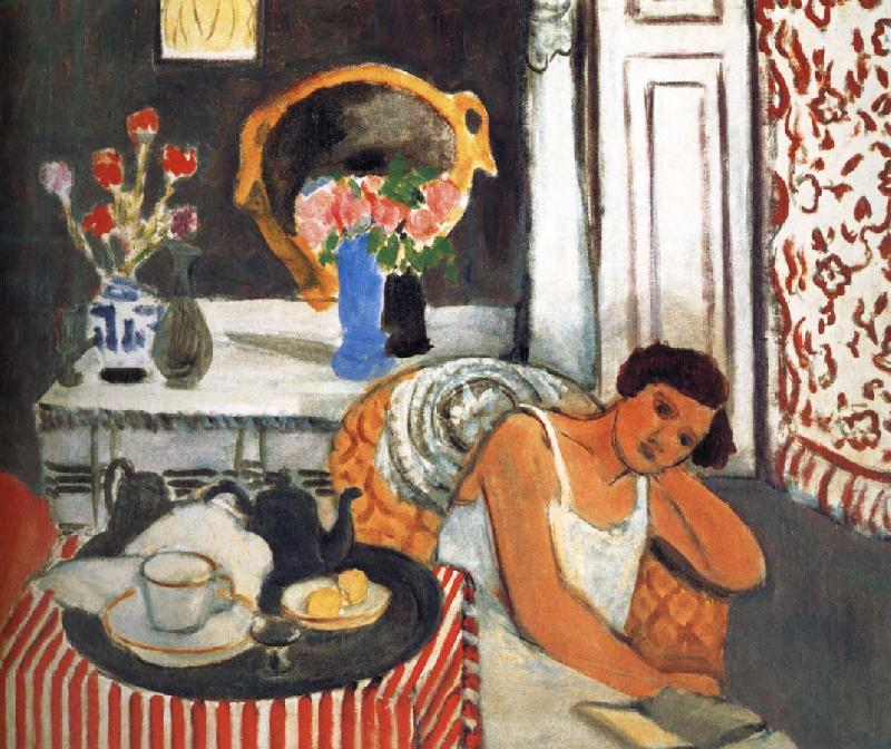 Henri Matisse Breakfast oil painting picture