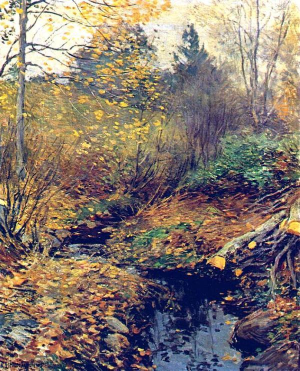 Landscape 1 - Willard Metcalf Oil Painting Reproduction