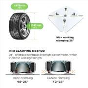 PL-1256 Arm Wheel Clamp Tire Changer