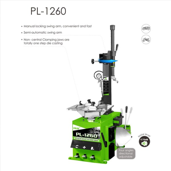 PL 1260 Wheel Clamp Tire Changer