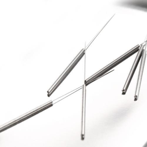 全钢平柄针灸针2