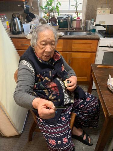 舊金山98歲老奶奶為武漢捐款 第二天安詳仙逝(組圖)