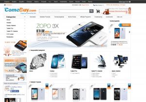 screenshot van de website van comebuy