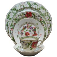 Versace by Rosenthal China Dinnerware Plates | ChinaRoyale