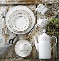 Pickard Palladium White Dinnerware | ChinaRoyale.com