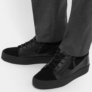 Black Low Top Sneakers (2)