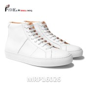 Men's All White High Top Sneakers (1)