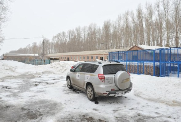 A silver grey Toyota RAV4 that was stolen in Changchun, China, found.