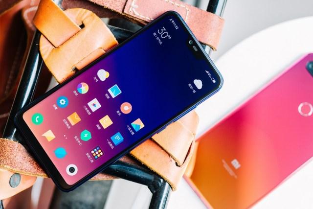 Xiaomi Mi 8 lite display