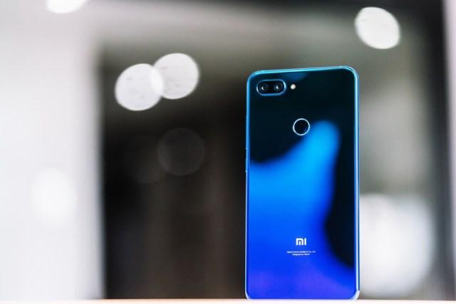 Xiaomi Mi 8 lite blu