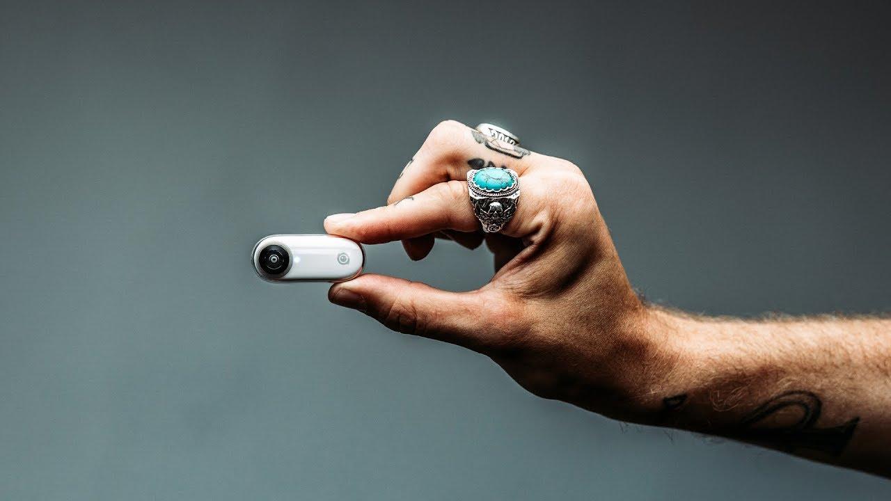 Insta360 GO: con i suoi 18 grammi è l'action cam più piccola che c'è!