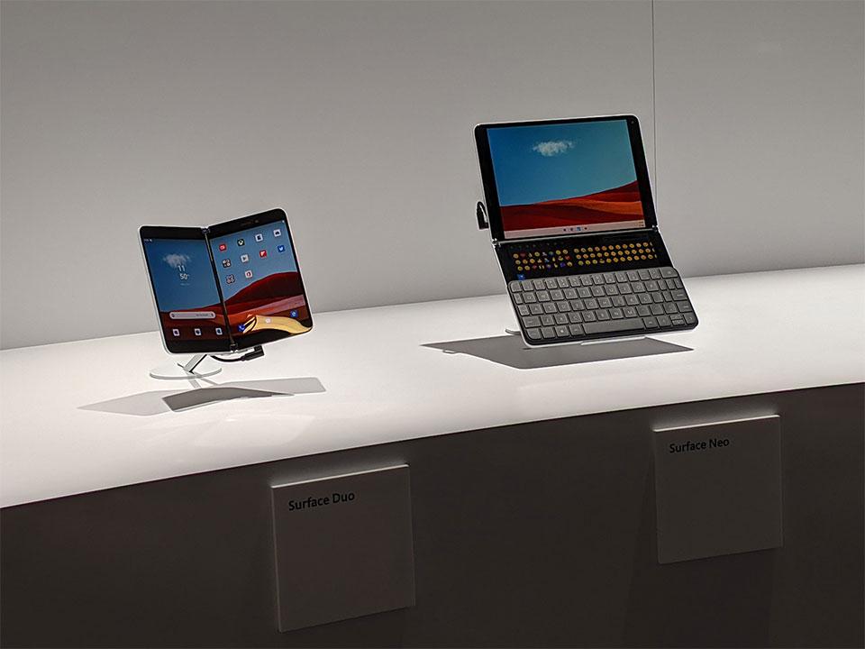 Microsoft Surface Duo e Surface Neo: il non-smartphone e il non-tablet