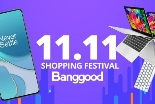11.11 Banggood Shopping Festival: le migliori offerte già disponibili!