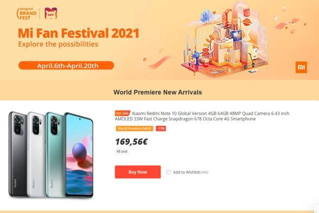 Xiaomi Mi Fan Festival 2021 Banggood