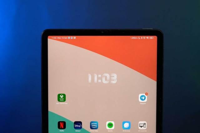 Xiaomi Pad 5 display