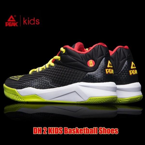Peak Dwight Howard Dh2 Kids Basketball Shoes - Blue