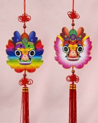 Wooden Dragon Hanging | Arts & Crafts | Chinese New Year ...