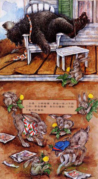 Tops And Bottoms  Chinese Books  Story Books  Western