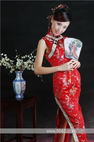 Qipao Chinese Traditional dress Madarin Dresses Qipao Pictures Chinese Culture