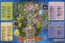 Hong Kong Disneyland Park Map - Maps China