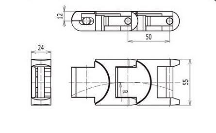 1705 Flexible conveyor chains Shusi conveyor chains