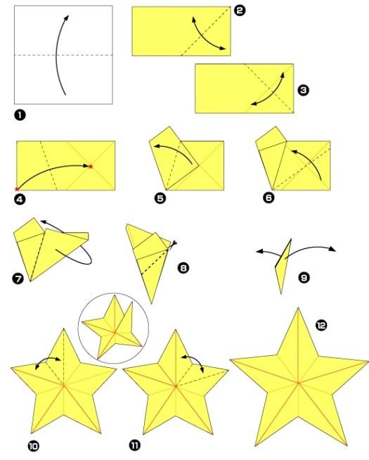 origami facile pour debutant tutorial origami handmade. Black Bedroom Furniture Sets. Home Design Ideas