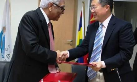 Don généreux de la Chine à la Commission de l'Océan Indien