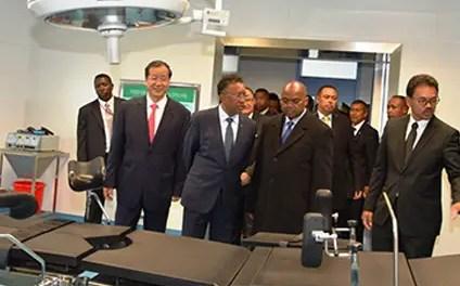 Pékin offre un hôpital universitaire aux malgaches