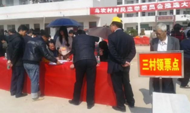 Un bout de démocratie à Wukan