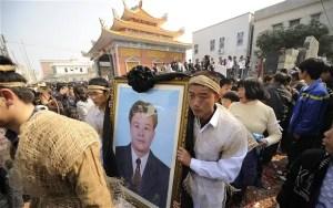 Marche pacifique en mémoire à Xue Jinbo
