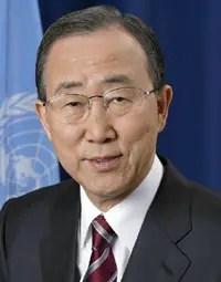 Ban Ki-moon le leadership de la Chine en matière de développement durable