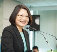 Première femme élue à la présidence de Taïwan, Tsai Ing-wen
