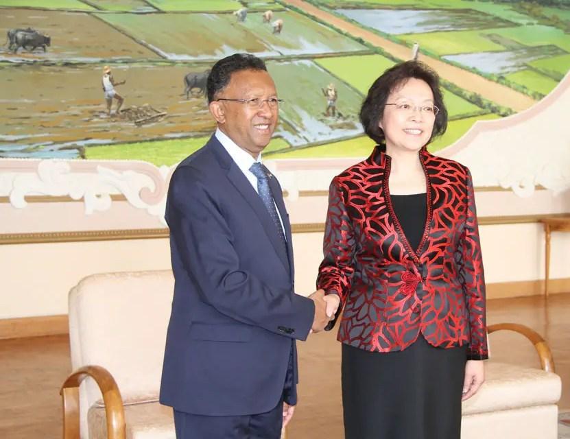 Accords signés entre la Chine et Madagascar