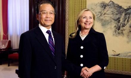 Hillary Clinton n'a jamais été fan de la Chine