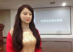 Jia Jia, premier robot interactif.