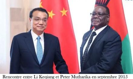 Forum pour l'investissement chinois au Malawi