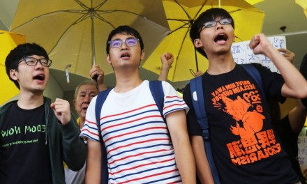 Joshua Wong reconnu coupable : «c'est le prix à payer»