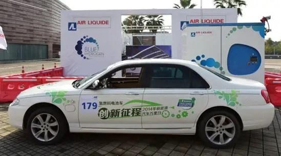 Le Wuhan développe des véhicules à hydrogène