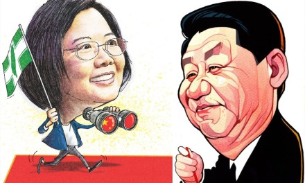 Echange « amical » entre Xi Jinping et James Soong