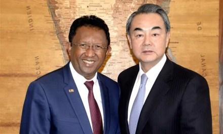 Wang Yi à Madagascar pour sceller une nouvelle alliance