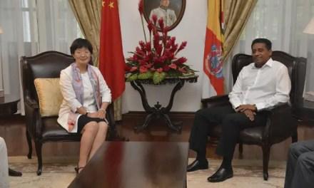 Yu Jinsong, nouvelle ambassadrice de Chine aux Seychelles