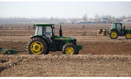 121 millions d'hectares de terres arables d'ici 2030