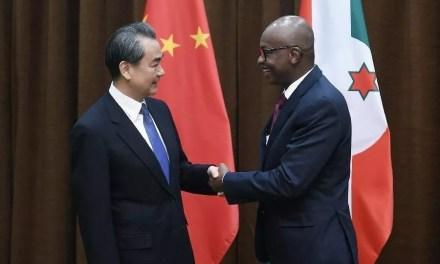 Le Burundi veut intensifier sa coopération avec la Chine