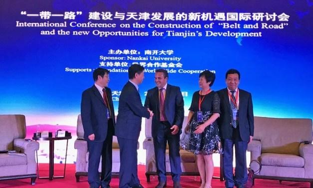 Conférence internationale pour la construction de la route de la soie et les nouvelles opportunités